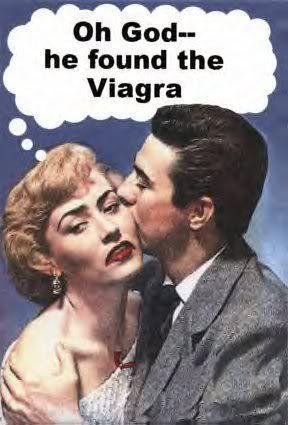 I took too many viagra