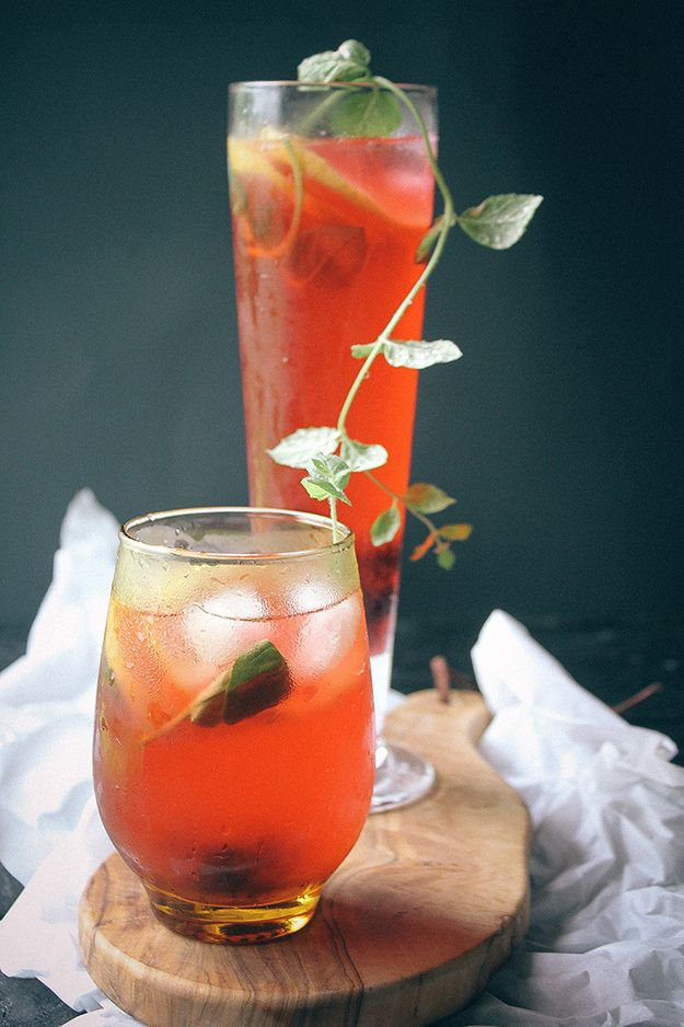 28 big batch summer drinks that know how to get down for Cocktail hibiscus