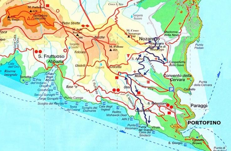 Comment rejoindre à pied la petite crique de Punta Giasso