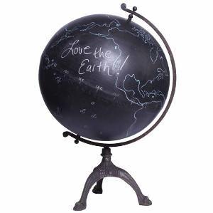 chalkboard globe.... so cool!!