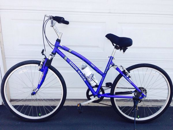 Giant Women S Eddie Bauer Limited Edition Soft Tail Comfort Hybrid Path Trail Bike For Sale In Rancho Cucamonga Ca Offerup Comfort Bike Bikes For Sale Cool Bicycles