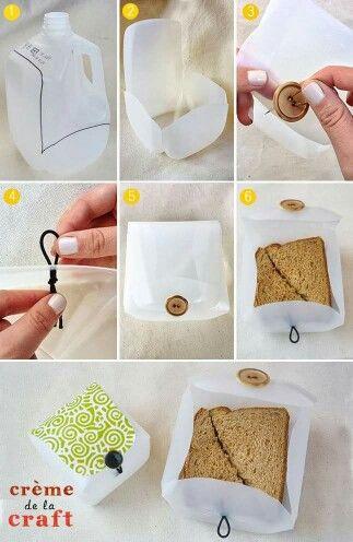 Ways to reuse a milk jug