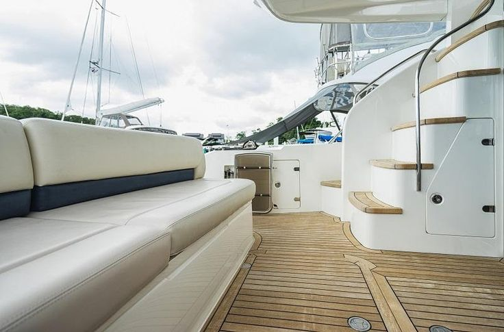 Marine Vinyl is an excellent choice for your boat's upholstery. Choose a best and make sure you are purchasing marine vinyl from a reputed brand. #marinevinyl #boat