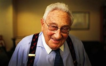 """Henry Kissinger: """"If You Can't Hear the Drums of War You Must Be Deaf"""" - Daily Squib (satire) - http://johnsrevelation.org/henry-kissinger-if-you-cant-hear-the-drums-of-war-you-must-be-deaf-daily-squib-satire/"""