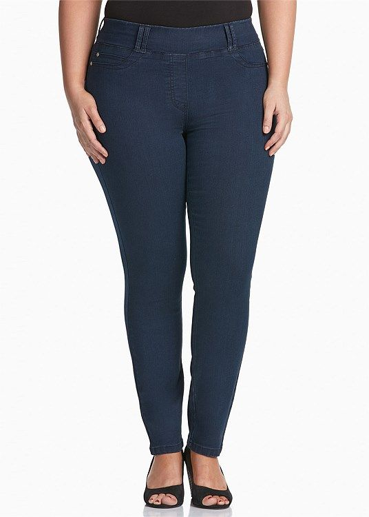Socialite Jean from TS14+ $AUD119.95. Slip on jeans with 5 pocket styling but not useable, which means everything sits nice and flat. Skinny jeans - check!