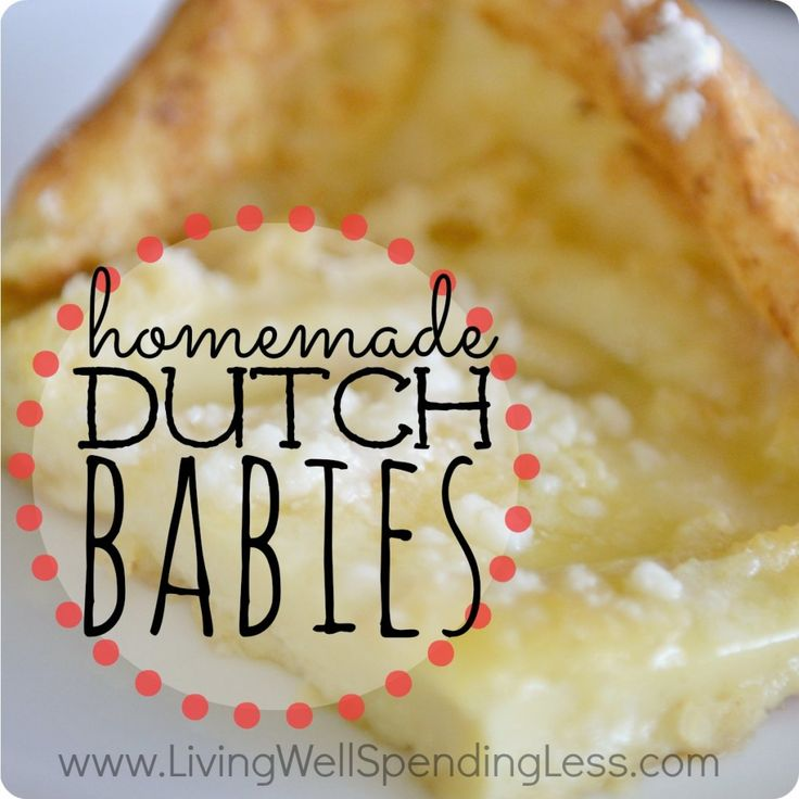 Homemade Dutch Babies