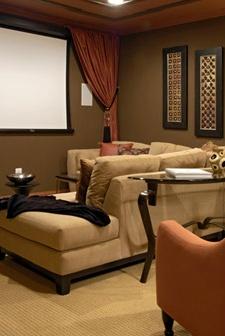 Design Works Interiors, Inc., Media Room. Media RoomsBasement IdeasTheatreRoom  Ideas