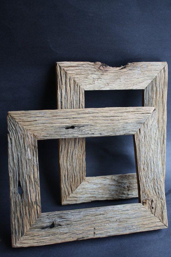 5 x 7 Tan Oak Barn wood Frame by timelessjourney on Etsy, $16.00.... my favorite!