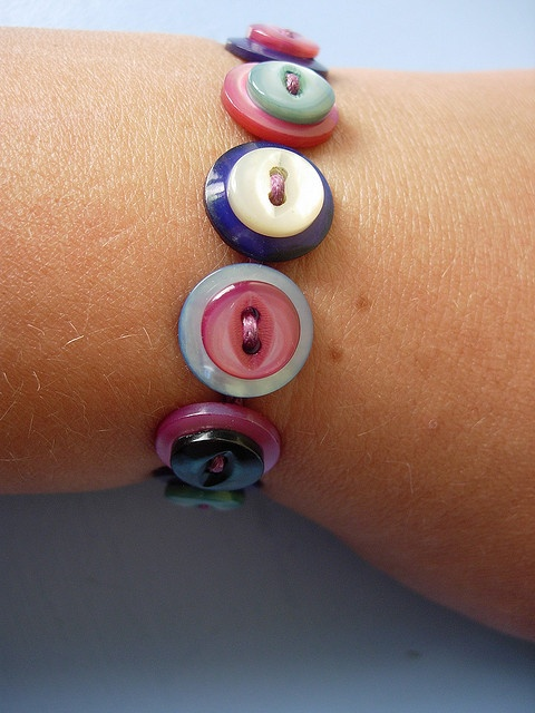 button jewellery swap - sent | Flickr - Photo Sharing!