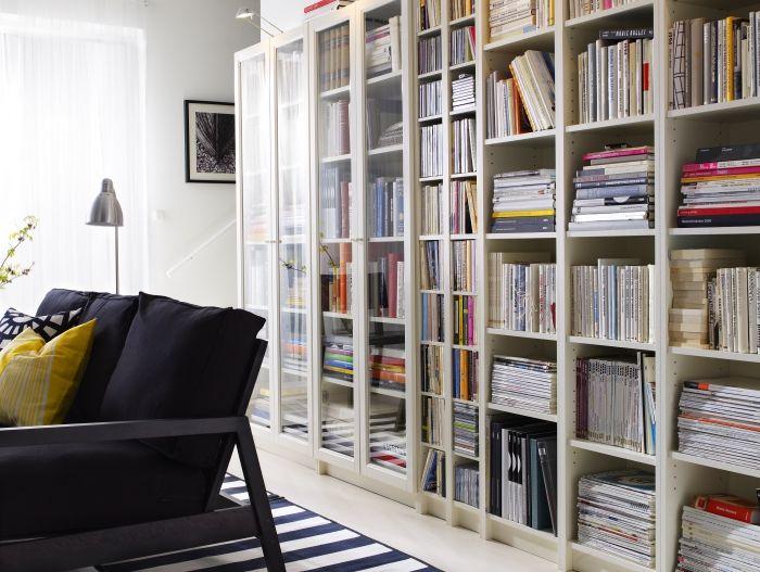 17 meilleures id es propos de biblioth ques billy sur pinterest taille de - Ikea bibliotheque murale ...