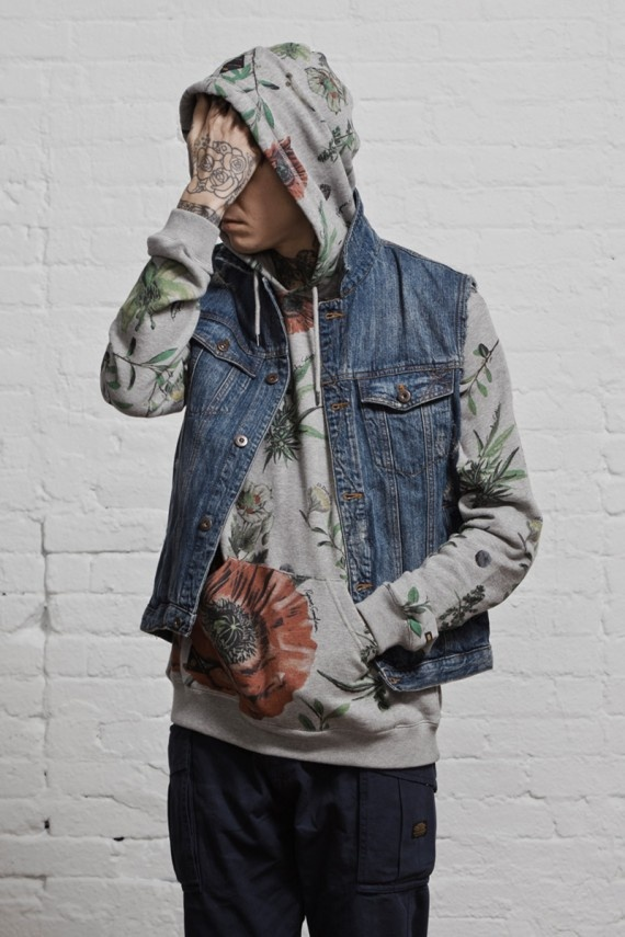I'm loving the big floral print for spring. 10.DEEP   Spring 2013 Collection   Delivery 1 Lookbook