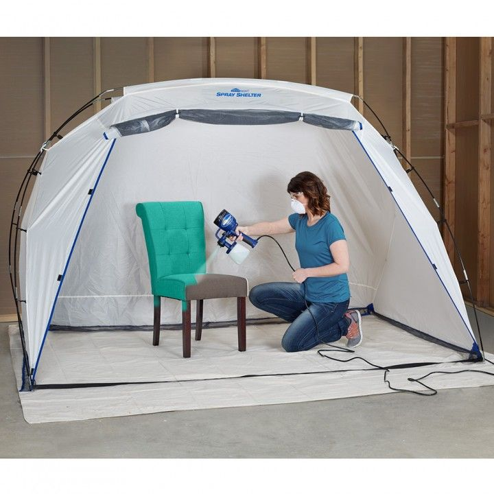 Large homeright spray shelter new woodworking products