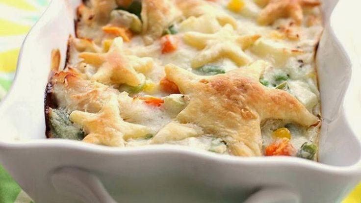 Creamy Chicken Pot Pie Recipe ~ Great Low Carb Meals