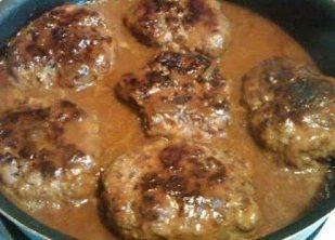 One of THE VERY BEST SALISBURY STEAK | cooking for you  I added about a tablespoon of soy sauce to this recipe.