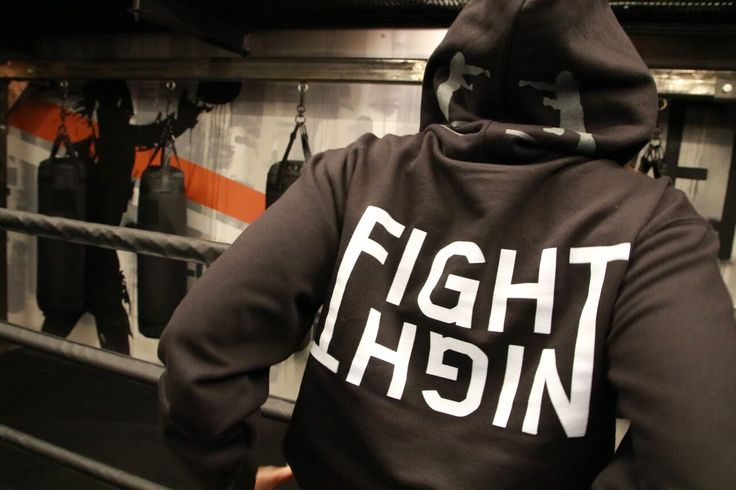 EverybodyFights Fight Night Hoodie #boxing #swag #apparel