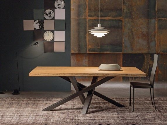 17 best images about rustic boards on pinterest for Table extensible pied metal
