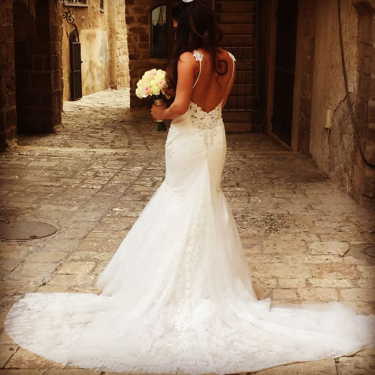 the beautiful bride Jen, she is like a mermaid princess ;)