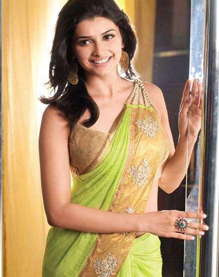 Prachi Desai Faux Georgette Border Work Green Plain Bollywood Designer Saree - M049 In Stock: Rs 1,225