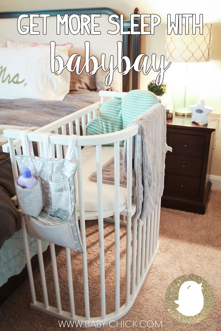 The co-sleeper of your dreams! The best way to keep baby close and safe throughout the night and gets you more sleep! @babybayUSA | Baby Chick                                                                                                                                                     More