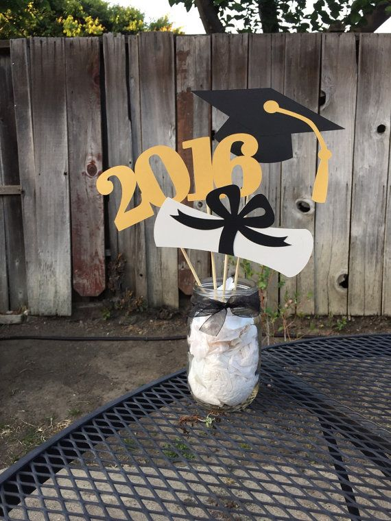 Graduation Centerpiece 2017 Graduation by PreciousPaperMakings