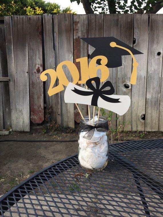 graduation centerpiece 2017 graduation by preciouspapermakings
