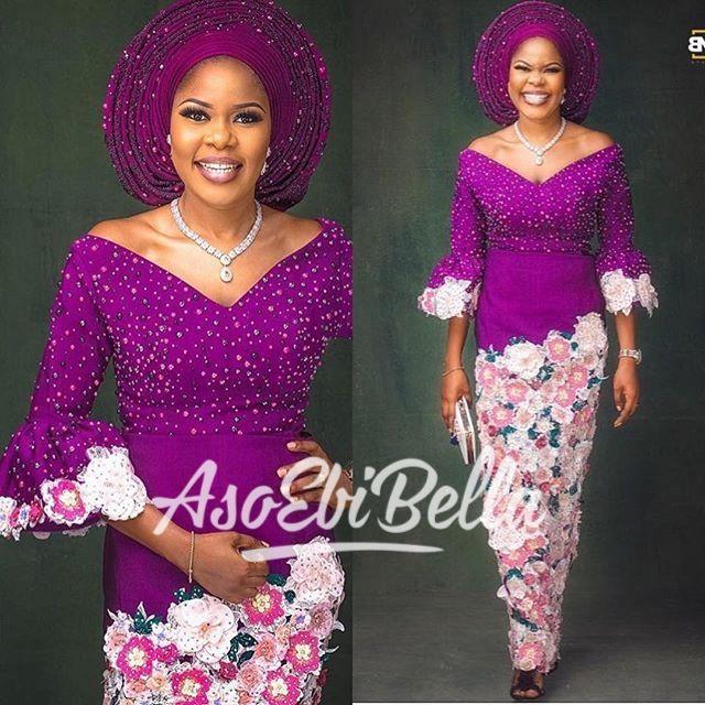 BellaNaija Weddings presents #AsoEbiBella – Vol. 177 – The Latest Aso Ebi Styles