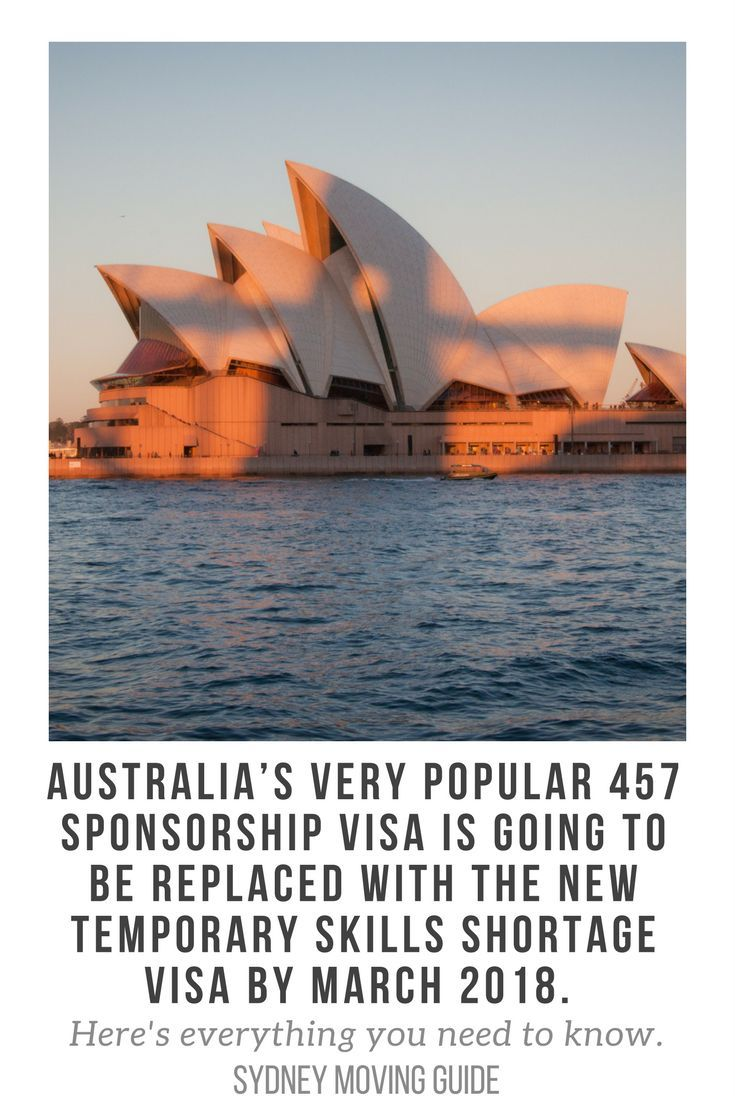 Australia's 457 Visa Will Be Completely Removed and Replaced with the Temporary Skills Shortage Visa by March 2018. Here's What You Need to Know about the Replacement of the Temporary Work 457 Visa with the Temporary Skills Shortage Visa.   // expat // expat life // expat advice // move to Australia // via /sydmovingguide/