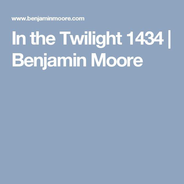 In the Twilight 1434  | Benjamin Moore