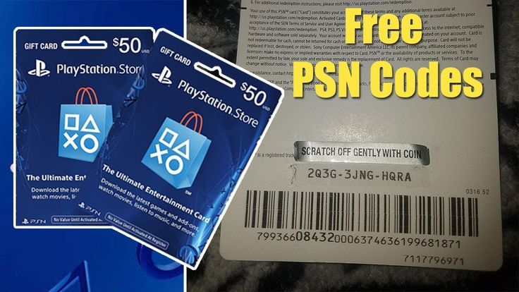 Free playstation gift card codes psnps4ps5 in 2020