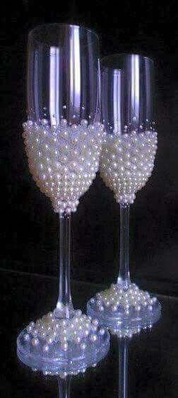 Wedding Diamond Theme Pearls Decorations And Jewelry Ideas