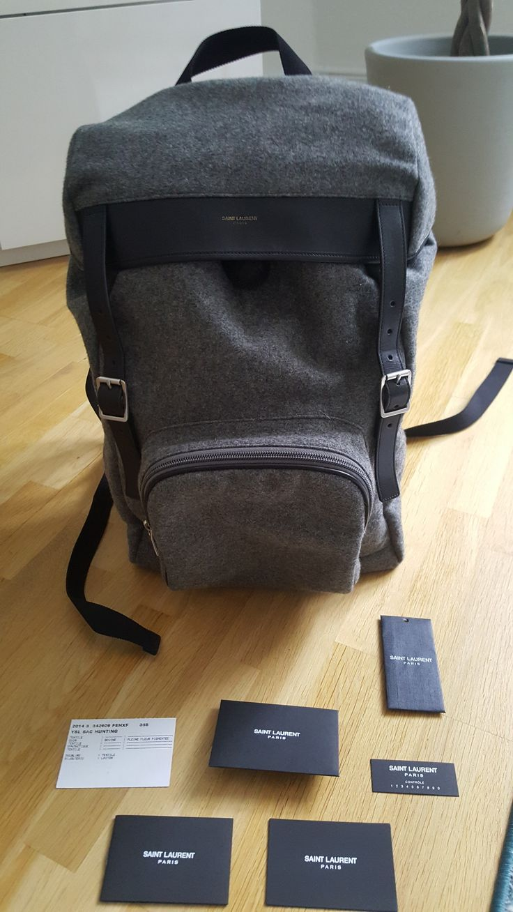 Saint Laurent Paris Last drop!!!!! SLP hunting backpack Size one size - Bags & Luggage for Sale - Grailed