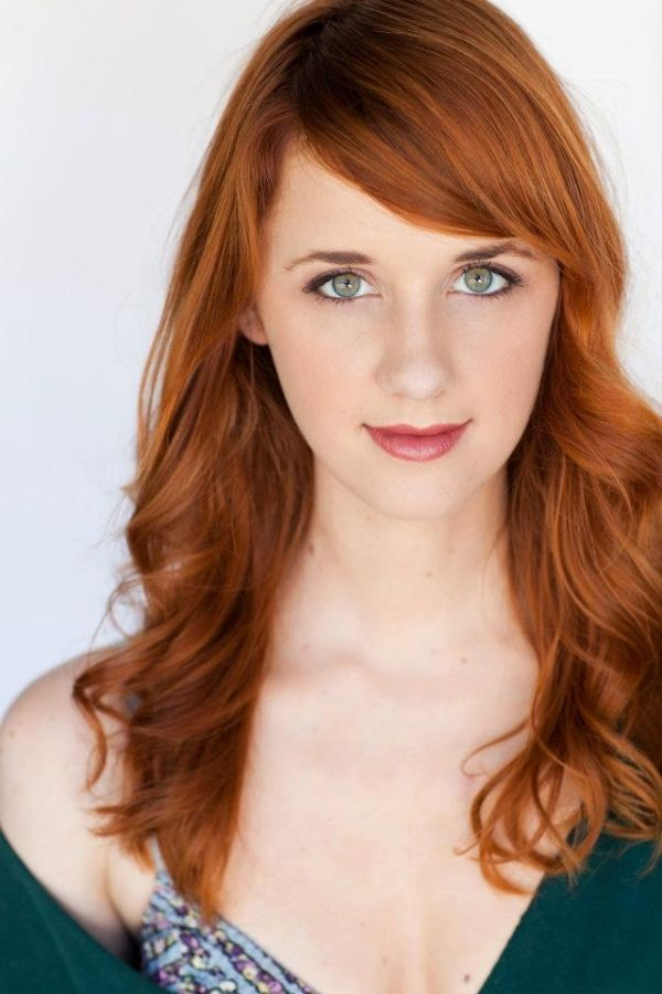 Laura Spencer | Redheads and Bangs