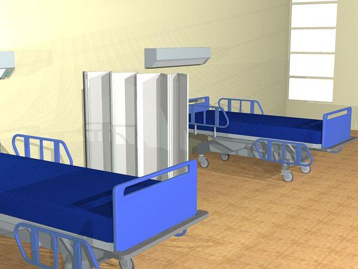 CLIPPER ROLLER LIGHT 30 - Pannelli divisori, pareti mobili, separè su ruote, schermi flessibili, progettazione, produzione e vendita - Clipper System #paravento #ospedale