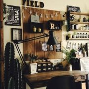 見せる収納/麻袋/キッチン収納/竹かご/DIY/ラッセルホブス…などに関連する他の写真