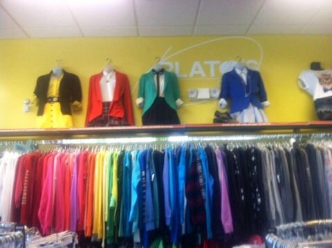 Plato's Closet rocking Heathers The Musical attire. Beautiful.