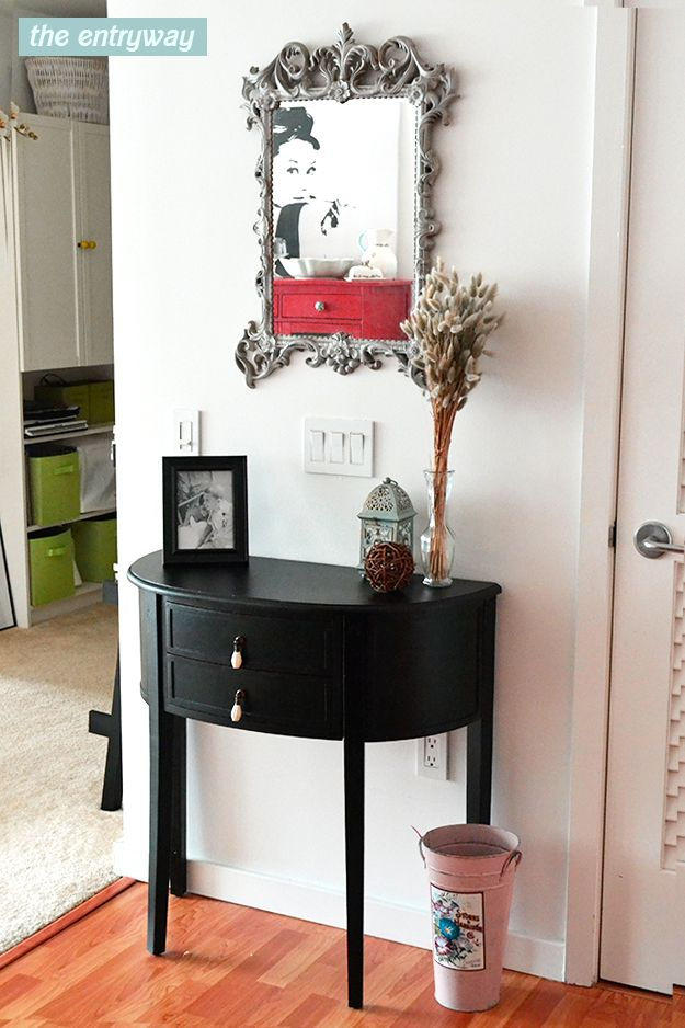 Foyer Table For Small Spaces : Best small entryway tables images on pinterest home