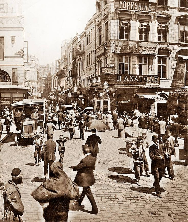 1900'lerin başları Karaköy Meydanı