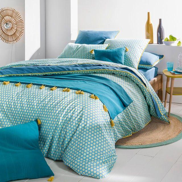 Aposte no azul para decorar seu quarto