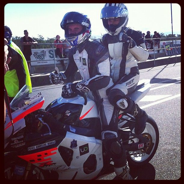 ASBK 2013, Cutting Laps With Chas Hern (And Reevu)