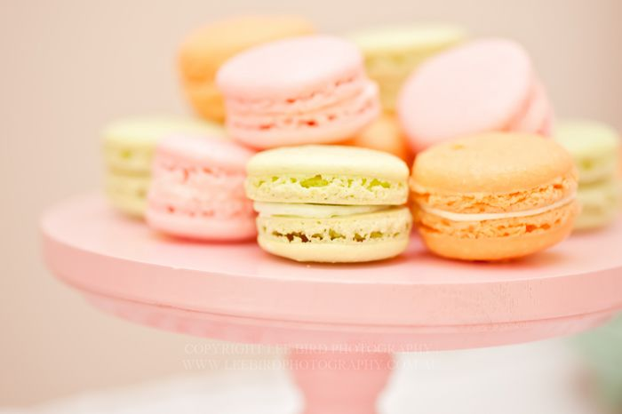 pretty macarons {Melbourne Event Photography}