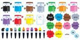 "Checkout the ""Colortime Paints Bulletin Board Set"" product"