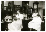 Friseursalon ca 1920
