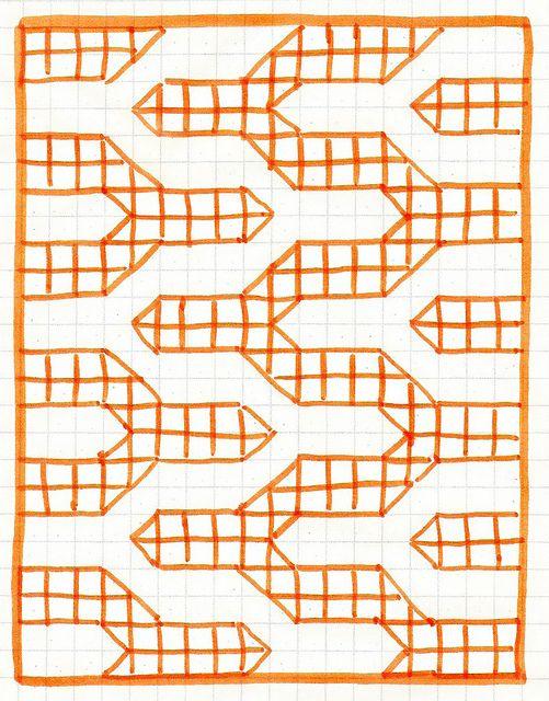 Bonjour Quilts: Tutorial: Modern Chevron Baby Quilt (Crib size)