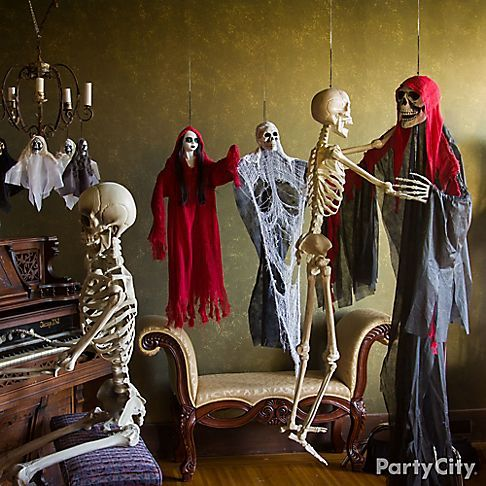 Chilling and cheeky haunted house ideas party city