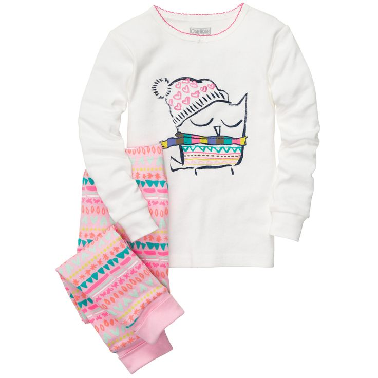 Baby Girl | Pajamas | OshKosh B'Gosh