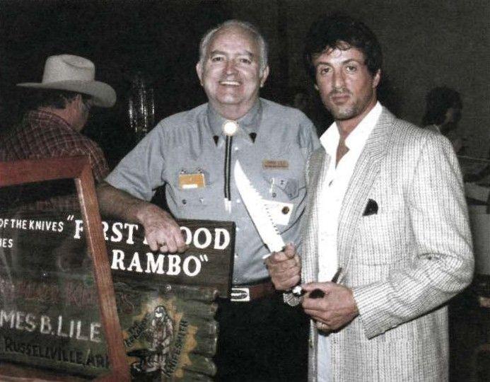 """Джимми Лайл. Посол мира кастомных ножей. Джимми Лайл - автор знаменитого ножа для фильма """"Рембо. Первая кровь"""""""