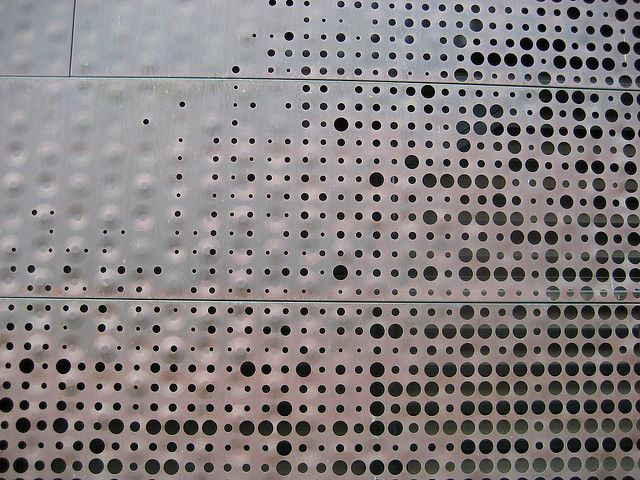 perforated facade | Flickr - Photo Sharing!