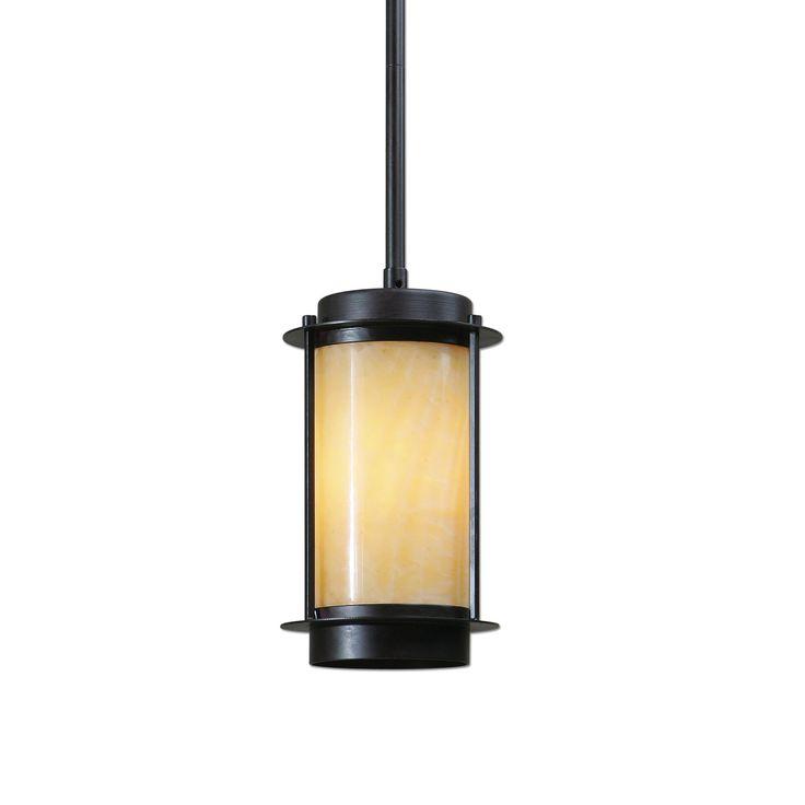 Дивный светильник из теплого натурального мрамора, а масляная бронзовая отделка только подчеркивает чистые ровные линии светильника. Рассчитана на 100W.             Материал: Металл, Камень.              Бренд: Uttermost.              Стили: Лофт.              Цвета: Бежевый, Черный.