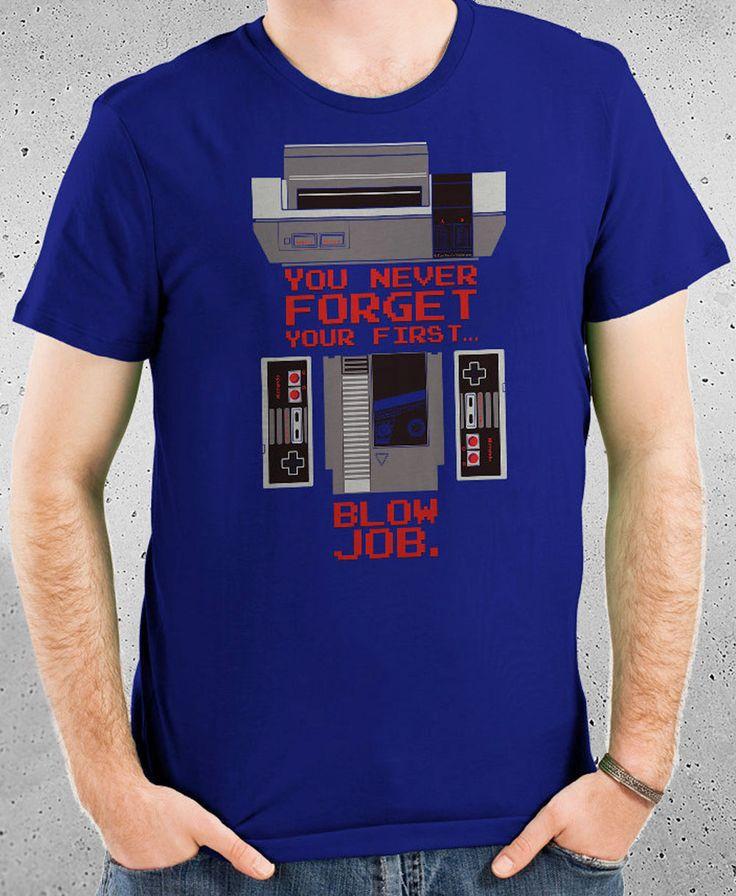 You Never Forget Your First... T-Shirt #shutupandtakemyyen #nes #retro #retrogaming #nintendo #tee #tshirt #tshirts #tees #shirt #shirts
