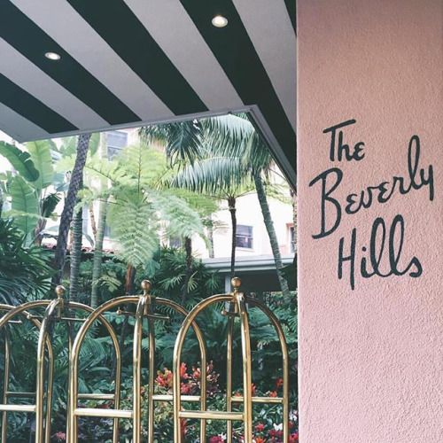 the beverly hills hotel + girly                                                                                                                                                                                 More